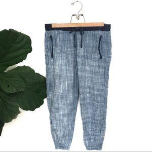 cloth & stone Pants - Cloth & Stone Cotton Tencil Blue Joggers!